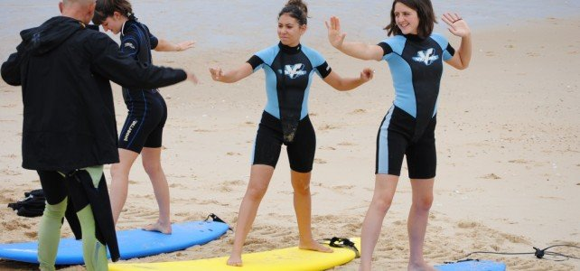 Group Surf Lessons Moliets
