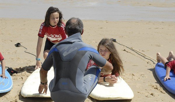 Moliets Only Surf School with small groups of 4
